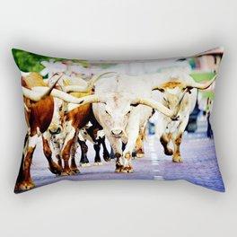Texas Stockyards Rectangular Pillow