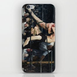 George Bellows's Stag at Sharkeys iPhone Skin