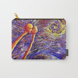 Oil painting Two in violet Carry-All Pouch
