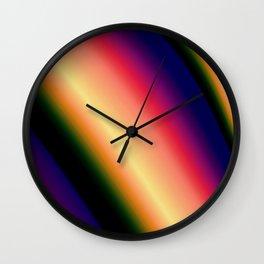 Sunset Summer Wall Clock