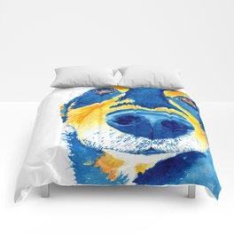 sausage lover Comforters