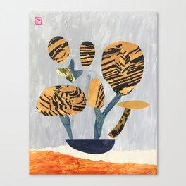 Tiger Tree Canvas Print