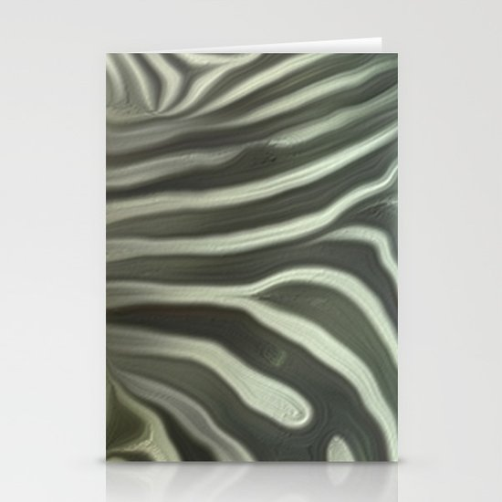 Zebra grazing Stationery Cards