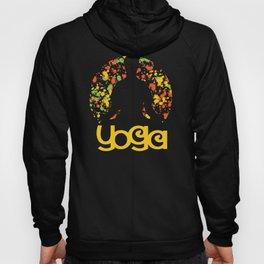 Colorful Yoga Design Hoody