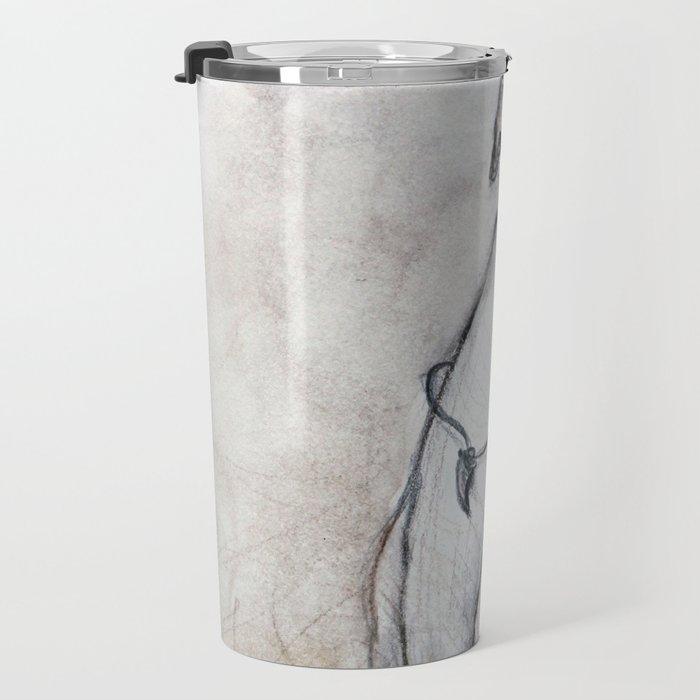 The Greyhound Wearing His Thorn Travel Mug
