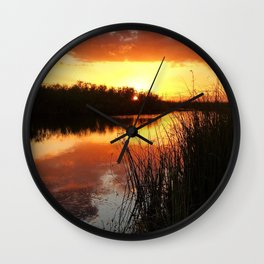 Bayou Dreaming Wall Clock