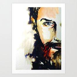 Simon Neil  Art Print