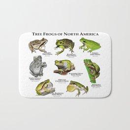 Tree Frogs of North America Bath Mat