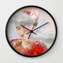 The essence of Frida Wall Clock