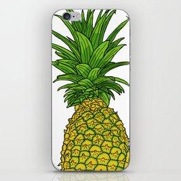 Pi the pineapple iPhone Skin