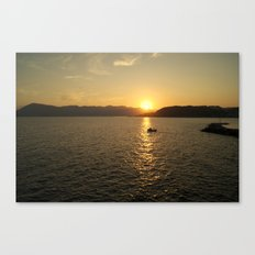 Sunset in Stockholm /2 Canvas Print