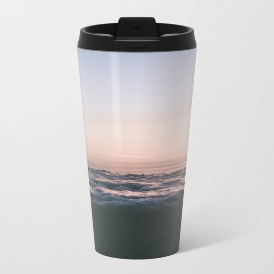 Above the Clouds Metal Travel Mug