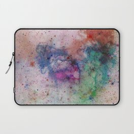 Star Gazer - Abstract, space, ink painting Laptop Sleeve