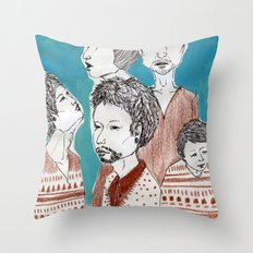 guys Throw Pillow