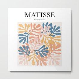 Matisse - Papier Découpé Metal Print