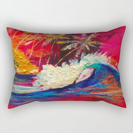 Dream surf Sumatra Rectangular Pillow