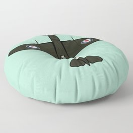 Spitfire Floor Pillow