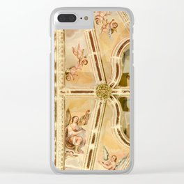 Look Up at the Angels Clear iPhone Case