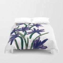 PurpleFlowers Duvet Cover