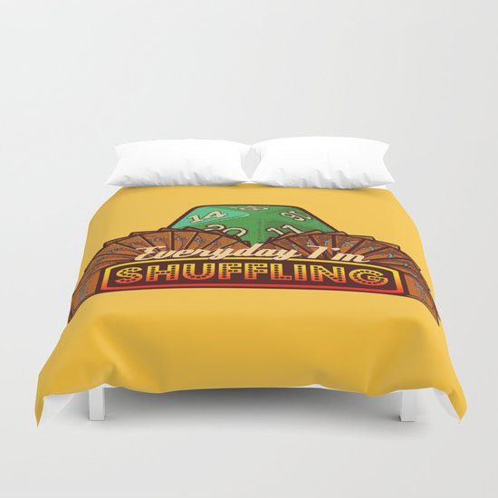 Everyday I'm Shuffling  |  Magic The Gathering Duvet Cover