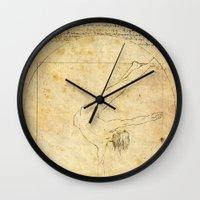 da vinci Wall Clocks featuring Break-Da (vinci) nce by boonheilig