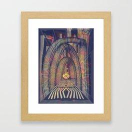 RetroFuture / Evolution-04 Framed Art Print