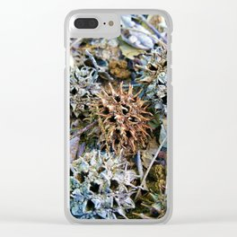 Spikey Balls Clear iPhone Case