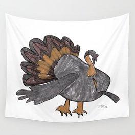 Fall Turkey Wall Tapestry