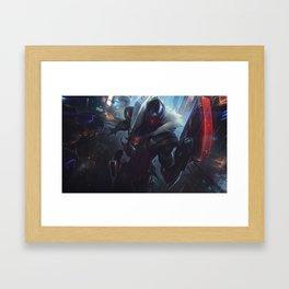 PROJECT: Jhin SA Framed Art Print