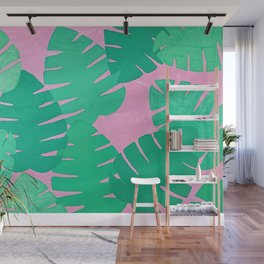 Blanche, Tropical palms  Wall Mural