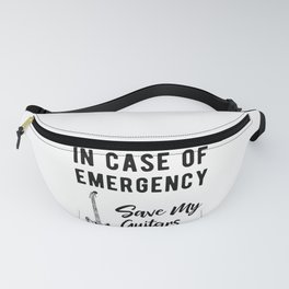 Save My Guitars First Funny Bass Guitarist Fanny Pack