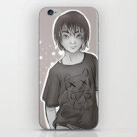 dallas iPhone & iPod Skins featuring Dallas by Vaughn Gogh