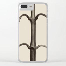 Karl Blossfeldt - Impatiens glandulifera Clear iPhone Case