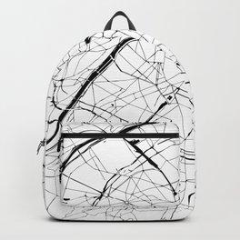 Paris Minimal Map Backpack