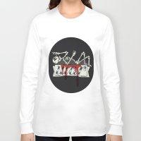 gears of war Long Sleeve T-shirts featuring war by Landon Sheely