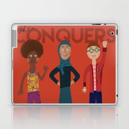 she conquers. Laptop & iPad Skin