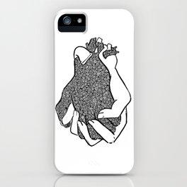 Entangled- Black iPhone Case