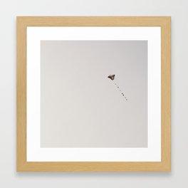 Lonely Kite I Framed Art Print