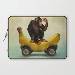Chimp my Ride Laptop Sleeve