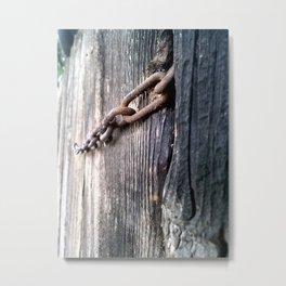 Fenced In #1 Metal Print