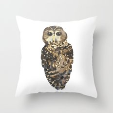 Northern Spotted Owl. Throw Pillow
