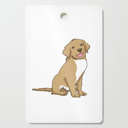 Golden Retriever Puppy Hound Gift Cutting Board