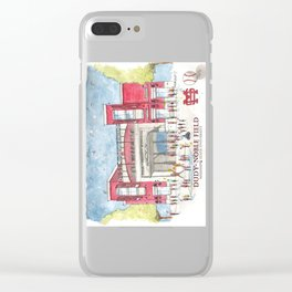 Dudy-Noble Field 2018 Clear iPhone Case
