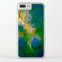 Cat's Paw Nebula Clear iPhone Case