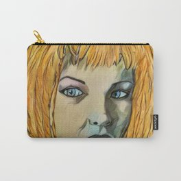 Leeloo Noir Carry-All Pouch