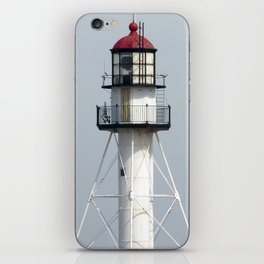 Whitefish Point Lighthouse Tower iPhone Skin