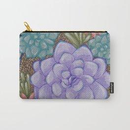 Little Succulent Garden Carry-All Pouch