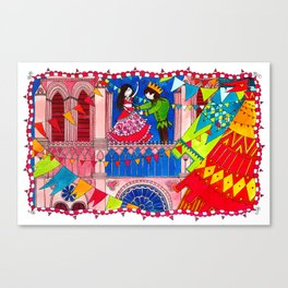 The Hunchback of Notre Dame Canvas Print