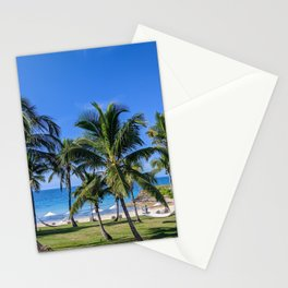 Tropical Beach in North Eleuthera, Bahamas #2 Stationery Cards