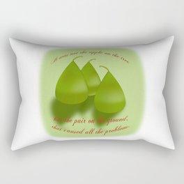 Pair on the Ground Rectangular Pillow